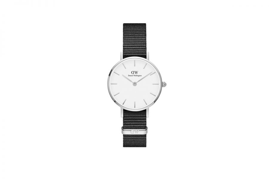 Classic Petite White Cornwall Zilver 28mm DW00100252