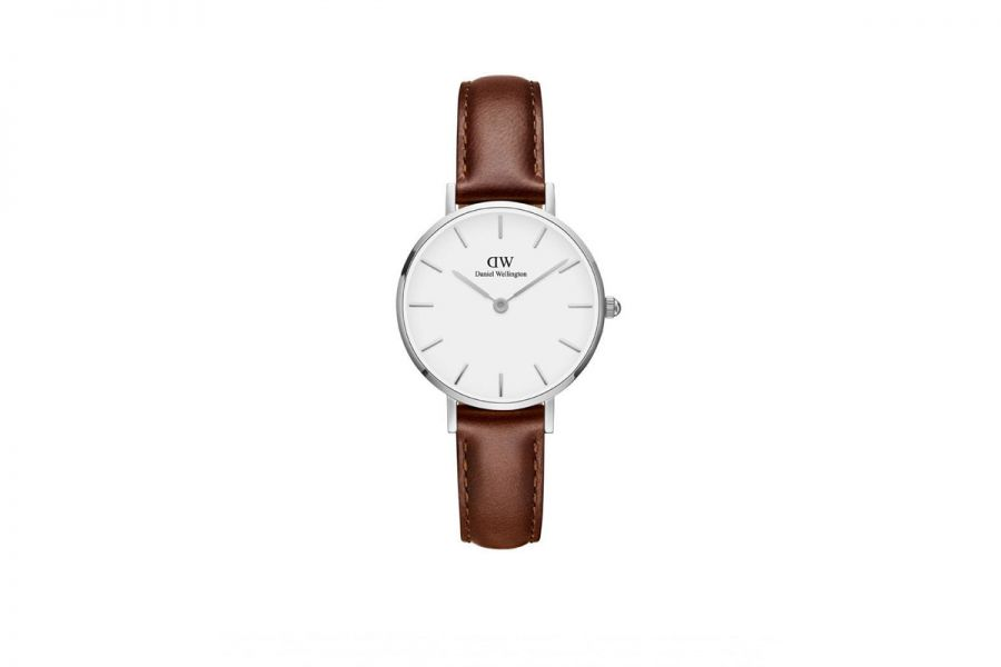 Classic Petite St Mawes Zilver 28mm DW00100243