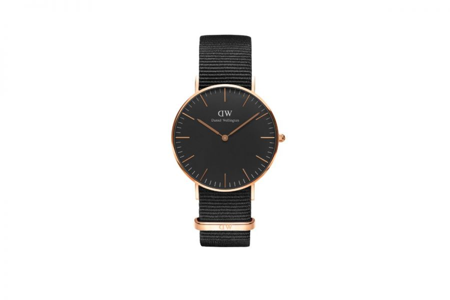 Classic Black Cornwall Rosé 36mm DW00100150