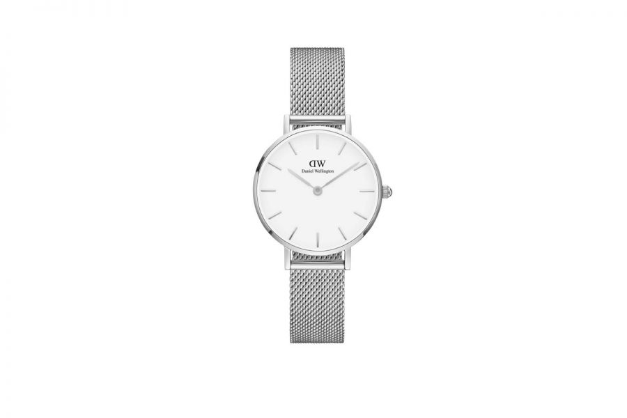Classic Petite Sterling White 28mm DW00100220