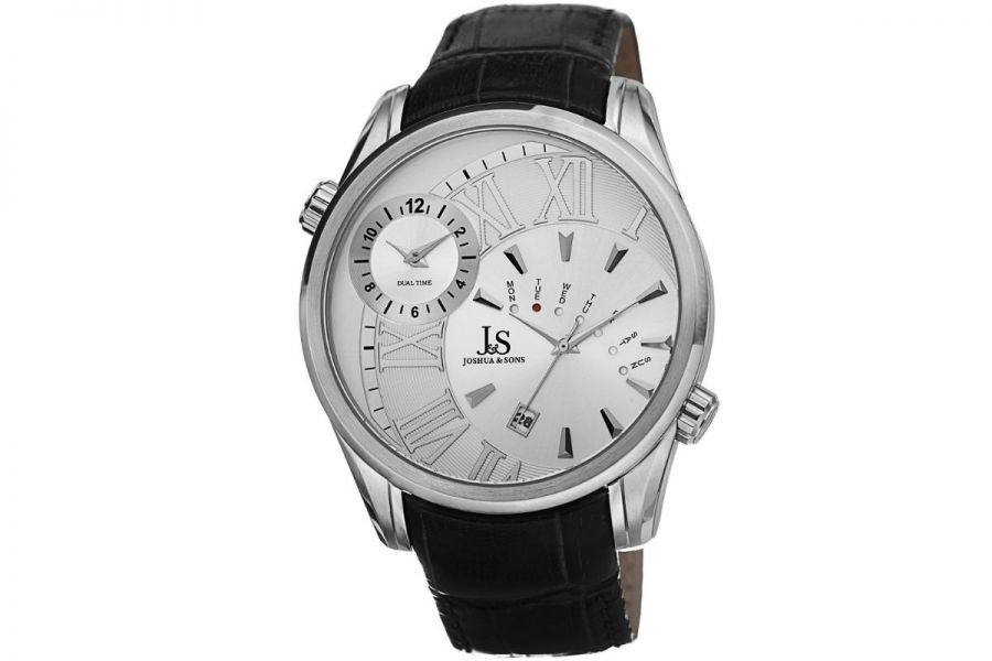 Refurbished - Joshua & Sons JS72SS Dual Time XL