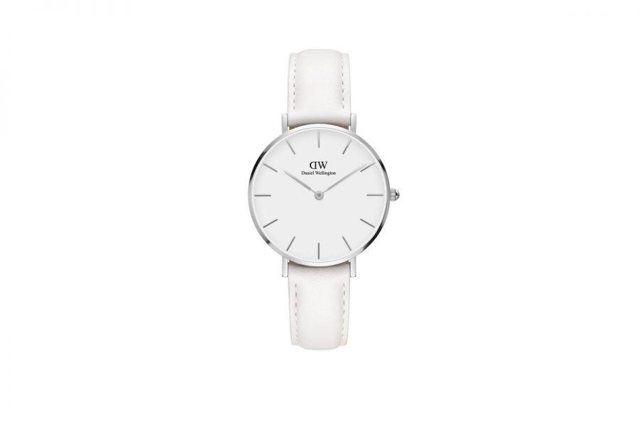 Petite Bondi White Silver 32mm DW00100190