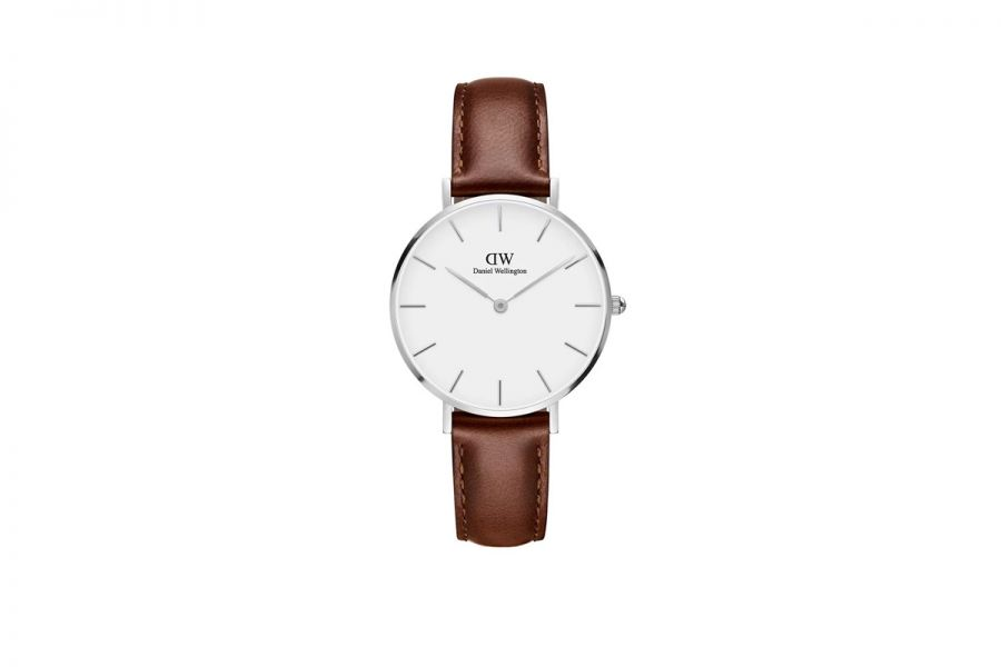 Petite St Mawes White Zilver 32mm DW00100187
