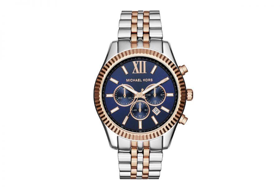 Michael Kors Lexington MK8412 Unisex Horloge 45mm 10 ATM