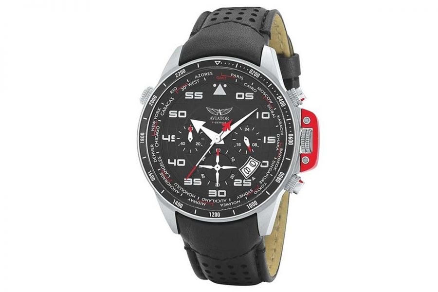 Aviator F-Series Chronograph World Time | AVW1265G149