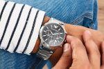 Emporio Armani Chronograph Staal 43 mm | AR2434 -100715379