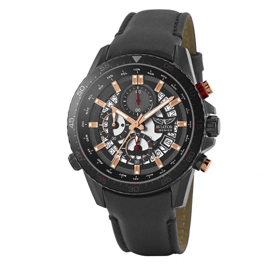 Aviator F-Series world cities chronograph | AVW2122G326