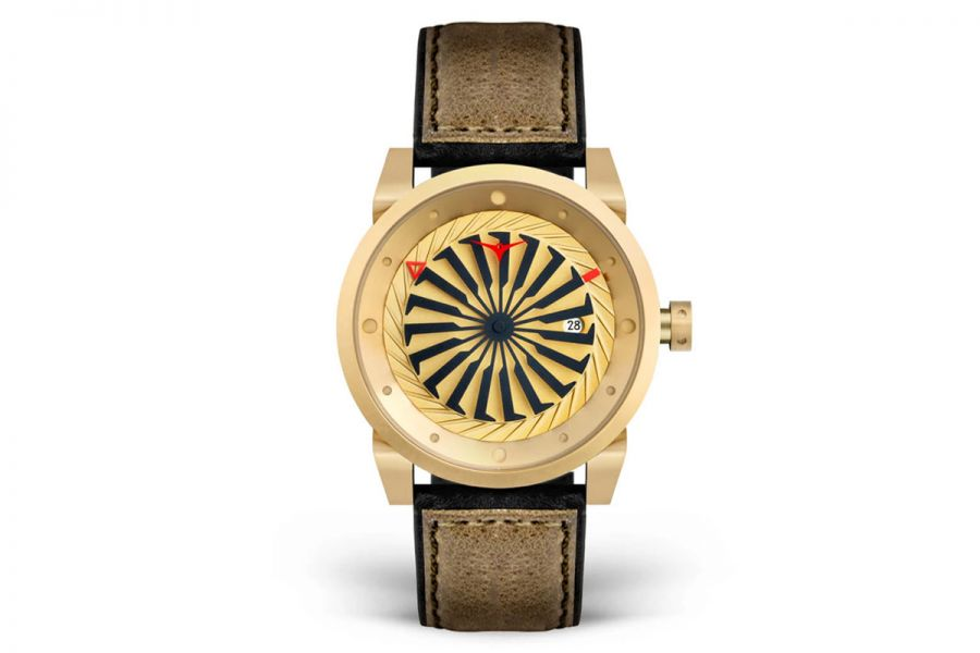Zinvo Blade Rotating Turbine Automatic | Gold