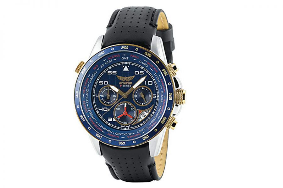 Aviator F-Series world cities chronograph | AVW7770G262