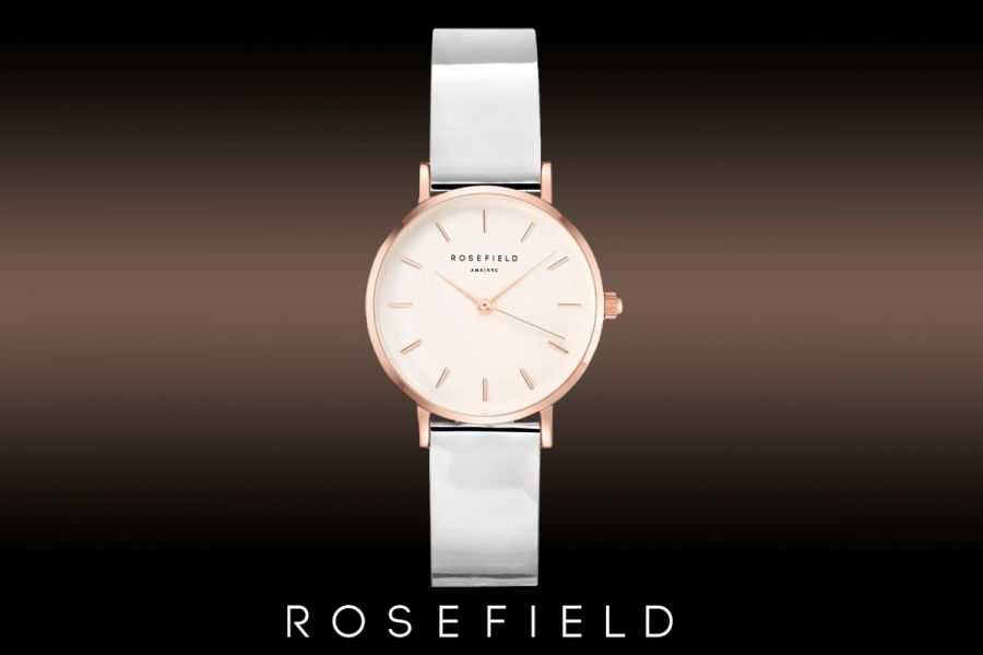 Rosefield Premium Gloss dameshorloge | SHMWR-H30