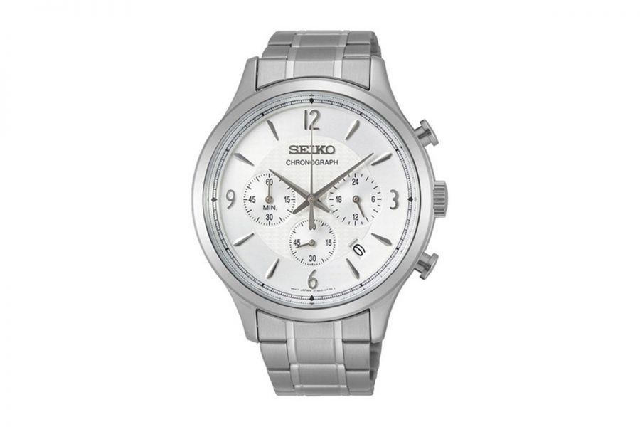 Seiko SSB337P1 Heren Horloge Chronograaf 44mm