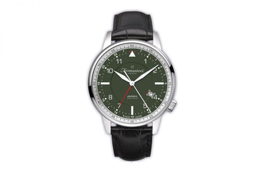 Fromanteel Aviator 01 - GMT Swiss Made