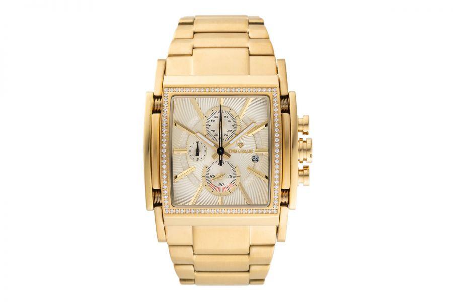 Yves Camani Escaut Chronograph Gold Edition | YC1060-S