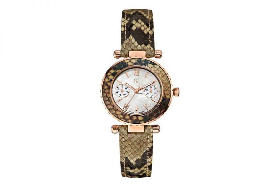 Guess Collection 'Swiss Made' Diver Chic Python | X35006L1S