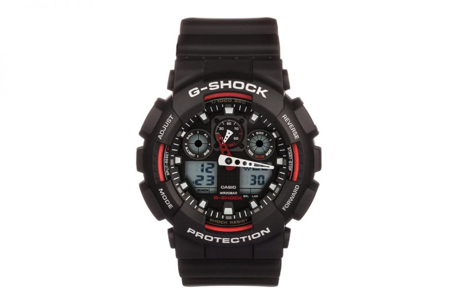 Casio G-Shock Black Chronograph | GA-100-1A4ER