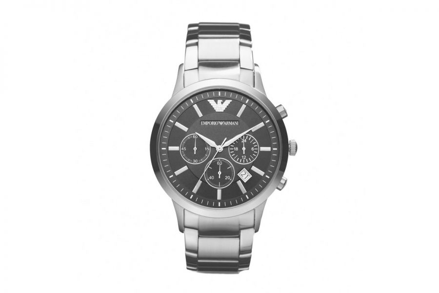 Emporio Armani Chronograph Staal 43 mm | AR2434