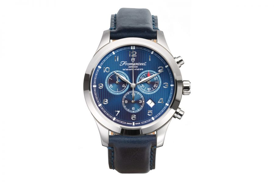 Fromanteel Amsterdam Chrono Nautique Blue A-0243-036