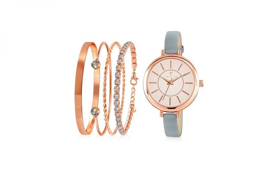 Temptation Set Horloge en 4 Armbandjes TEA-2018-01