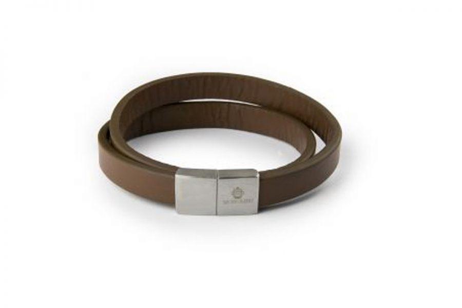 Monomen Men's Genuine Nappa Leather Bracelet MM10788
