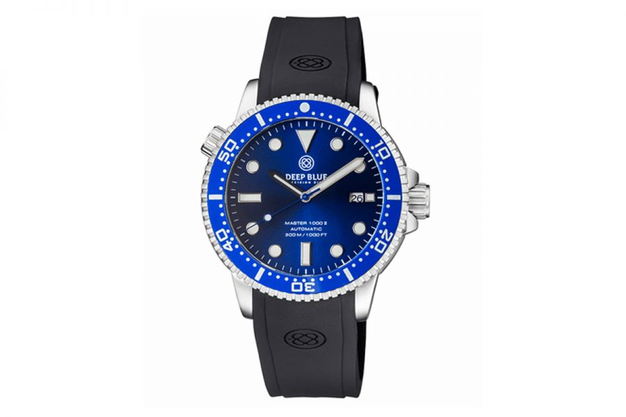 MASTER 1000 II 44MM AUTOMATIC DIVER BLUE CERAMIC BEZEL -DARK BLUE SUNRAY DIAL- BLUE SECOND HAND