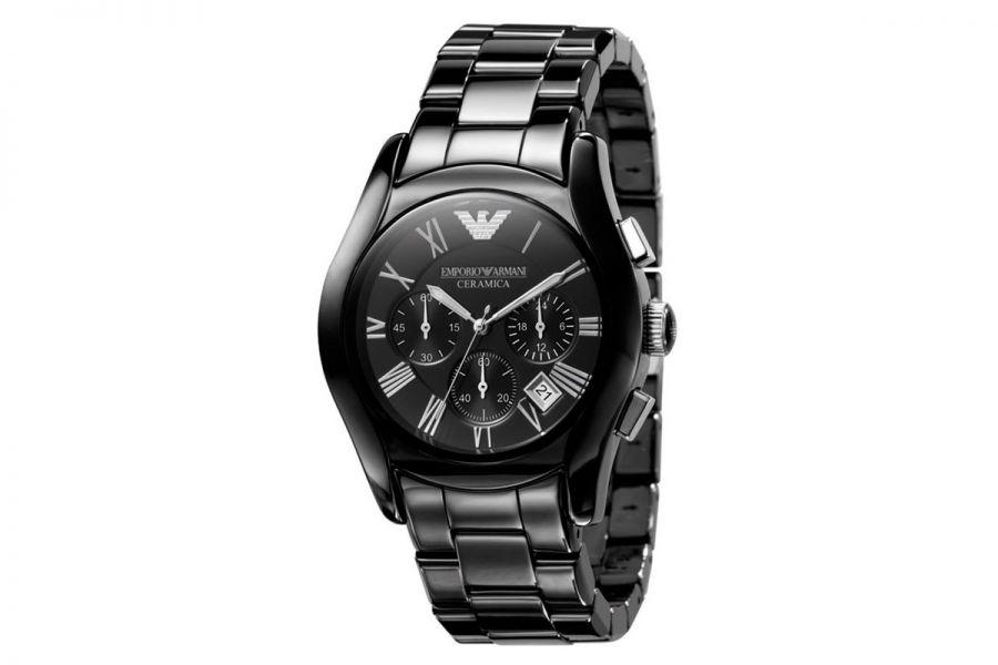 Emporio Armani Ceramica Valente AR1400 Heren Horloge 42mm 5 ATM