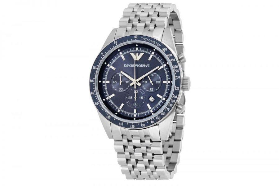 Emporio Armani Tazio AR6072 Heren Horloge 46mm 5 ATM