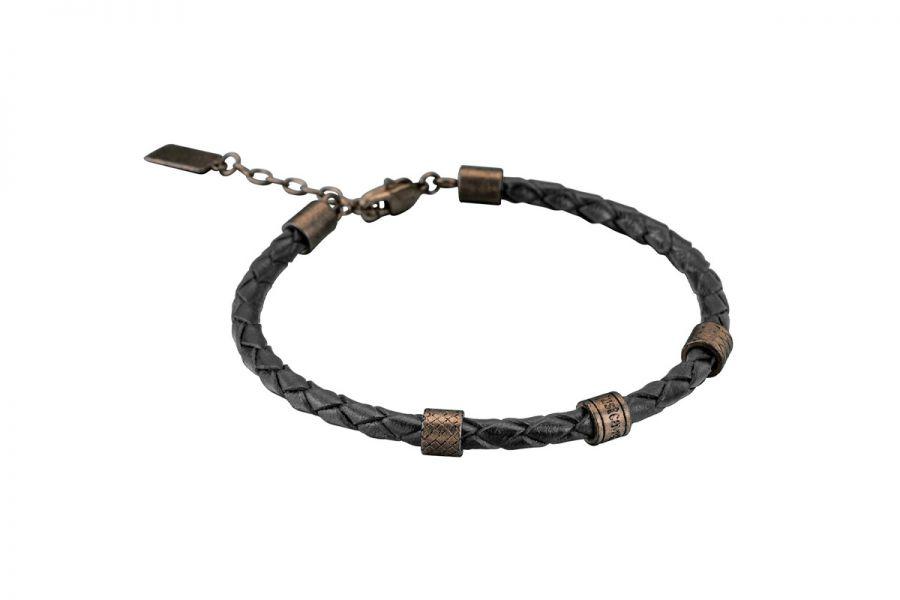 Just Cavalli Armband JCBR50020200 Heren Leather 200mm x 5mm