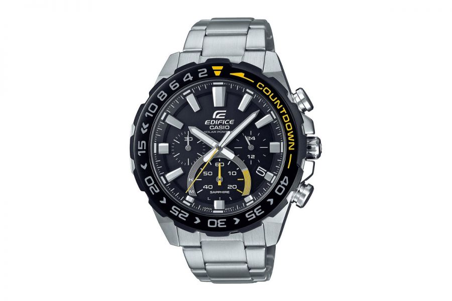 Casio Edifice EFS-S550DB-1AVUEF Horloge Heren 47mm