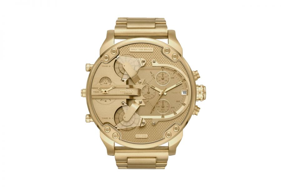 Diesel Mr Daddy 2.0 Heren Horloge 57mm Goud | DZ7399