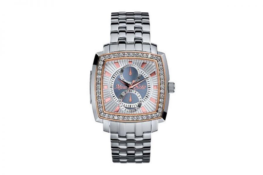 Marc Ecko E15066G1 Horloge Heren 46 mm met Swarovski