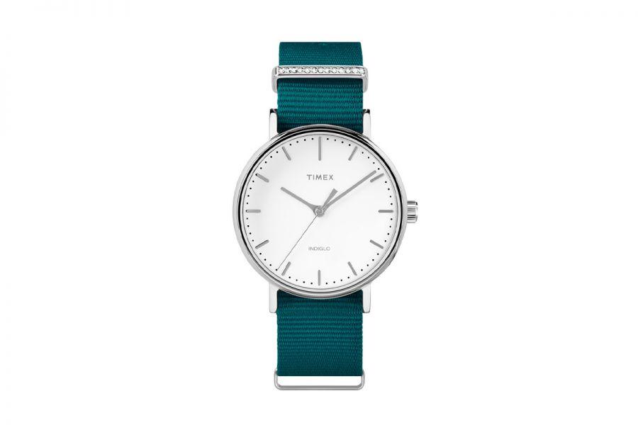 Timex TW2R49000D7 Weekender Fairfield 37mm Dames Horloge 3 ATM