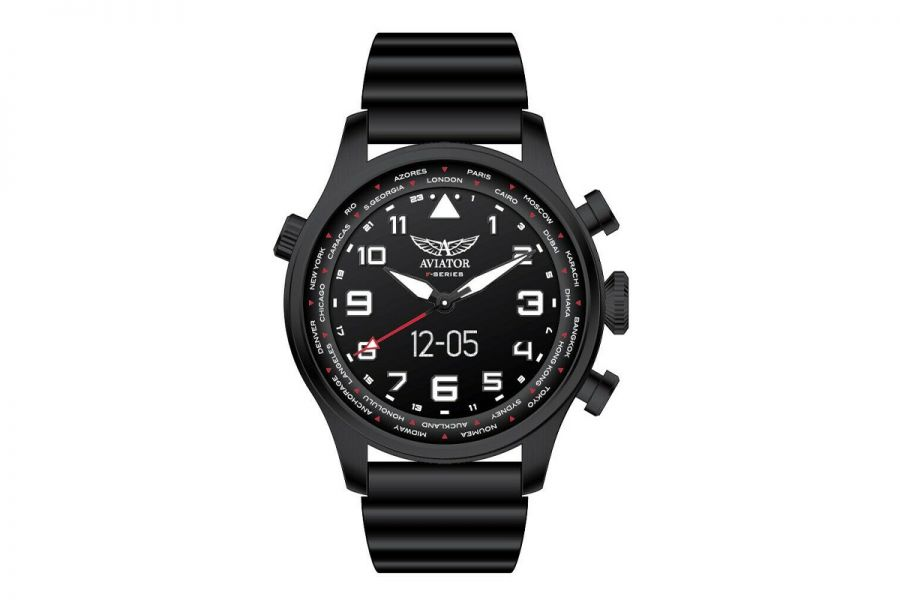 Aviator F-Series Smartwatch Black  45 mm | AVW79215G360