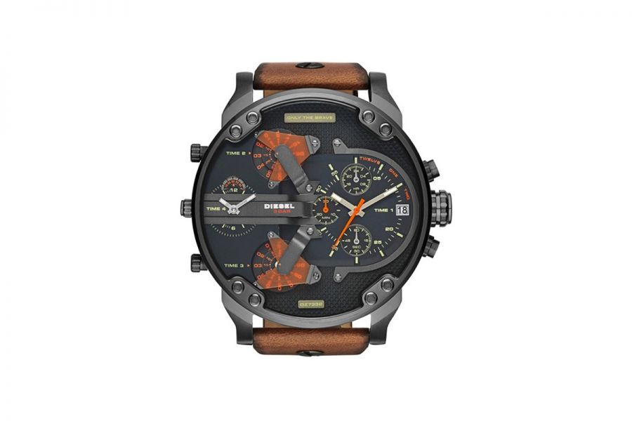 Diesel Mr. Daddy 2.0 Multifunctional Staal 57 mm | DZ7332
