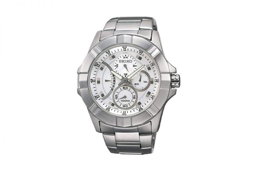 Seiko SRL065P1 Horloge Heren Quartz 44mm