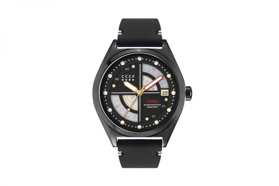 CCCP SHCHUKA CP-7031-08 Horloge Heren 43mm