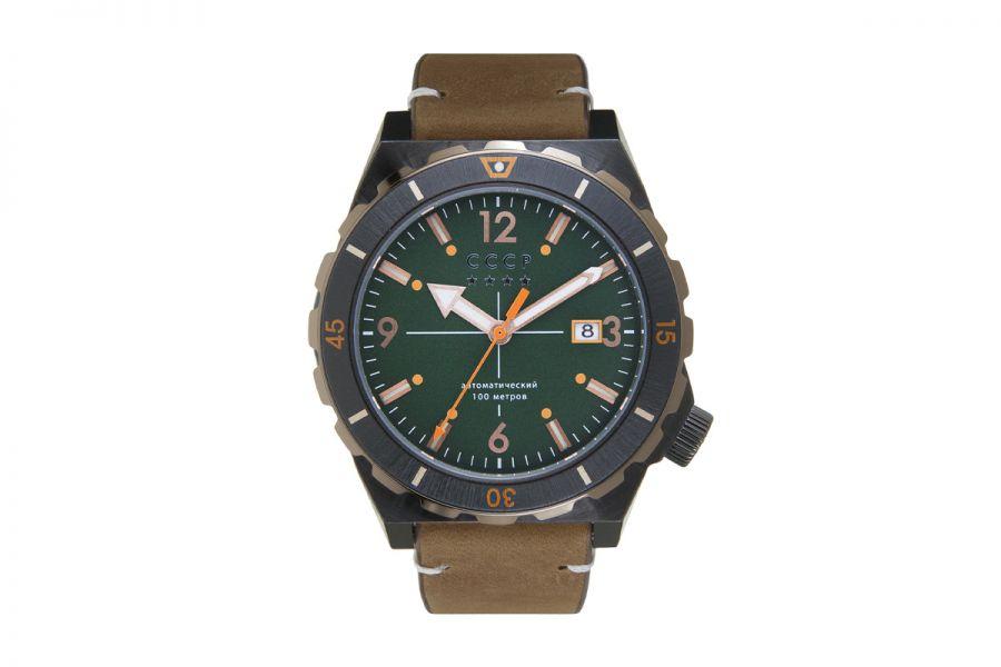 CCCP AURORA CP-7041-04 Horloge Heren 46mm