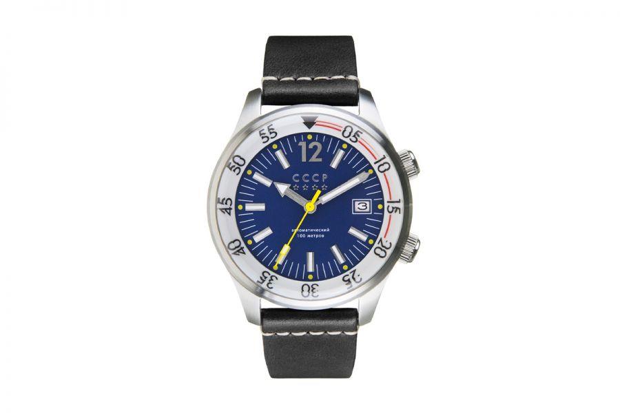 CCCP BLACK SEA CP-7043-02 Horloge Heren 42mm