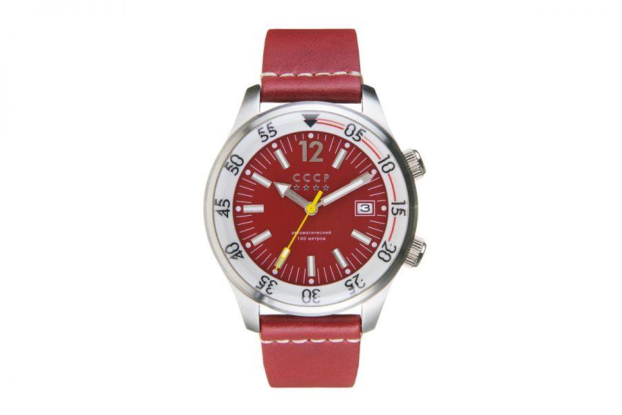 CCCP BLACK SEA CP-7043-03 Horloge Heren 42mm
