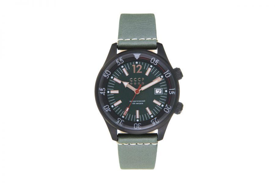 CCCP BLACK SEA CP-7043-04 Horloge Heren 42mm
