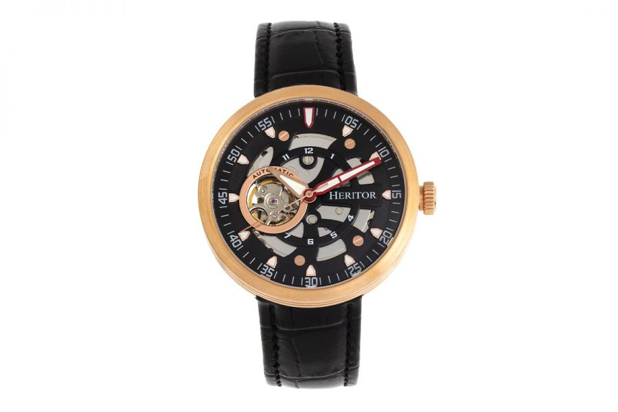 Heritor Jesper HERHR8707 Horloge Heren 42mm