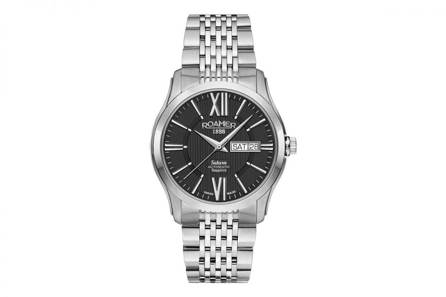 Roamer Saturn II Staal Automatic | 960637 41 53 90