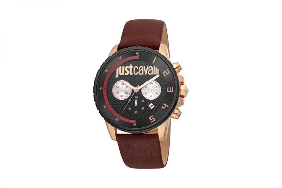 Just Cavalli JC1G063L0245 Heren Horloge 44 mm WR 100mt