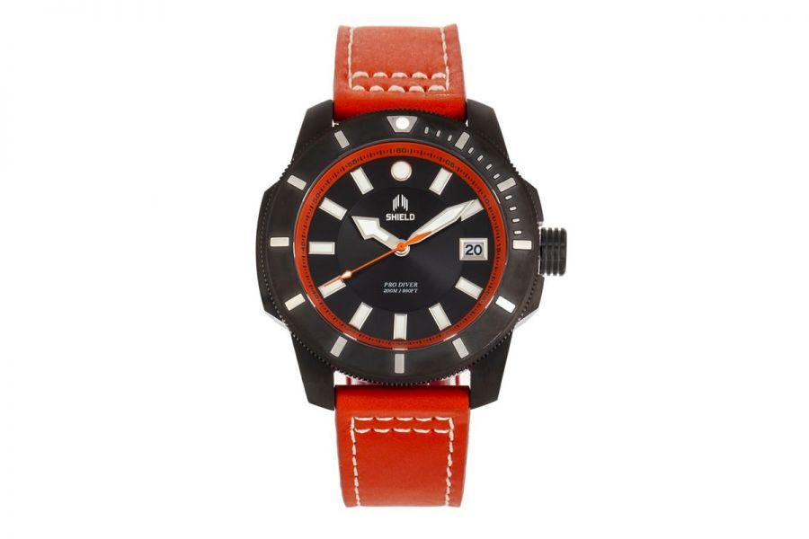 Shield Shaw Diver Leer Staal   SLDSH106-06
