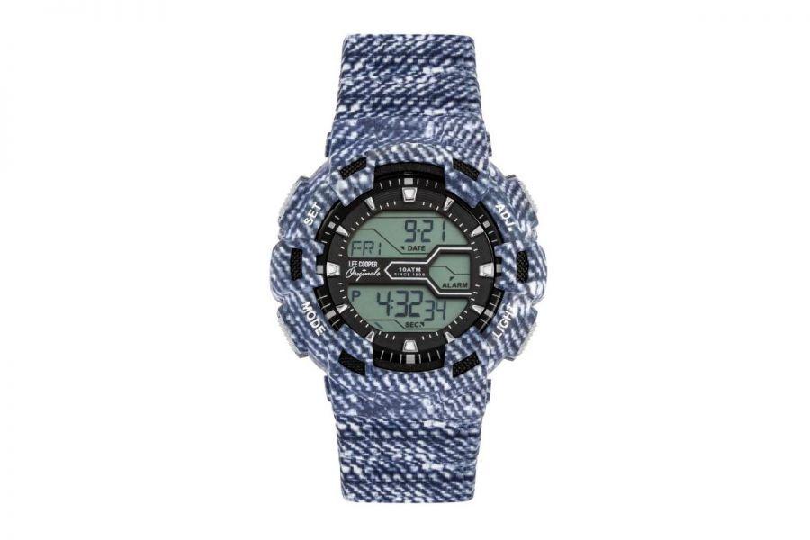 Lee Cooper LC05600.020 Horloge Heren 46 mm WR: 10 ATM