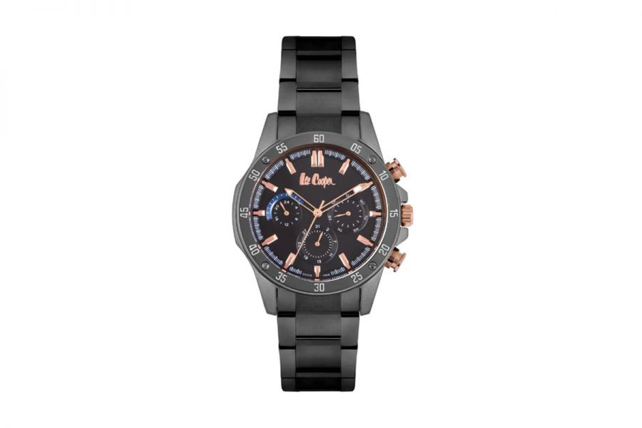 Lee Cooper LC06837.060 Horloge Heren 44 mm WR: 3 ATM