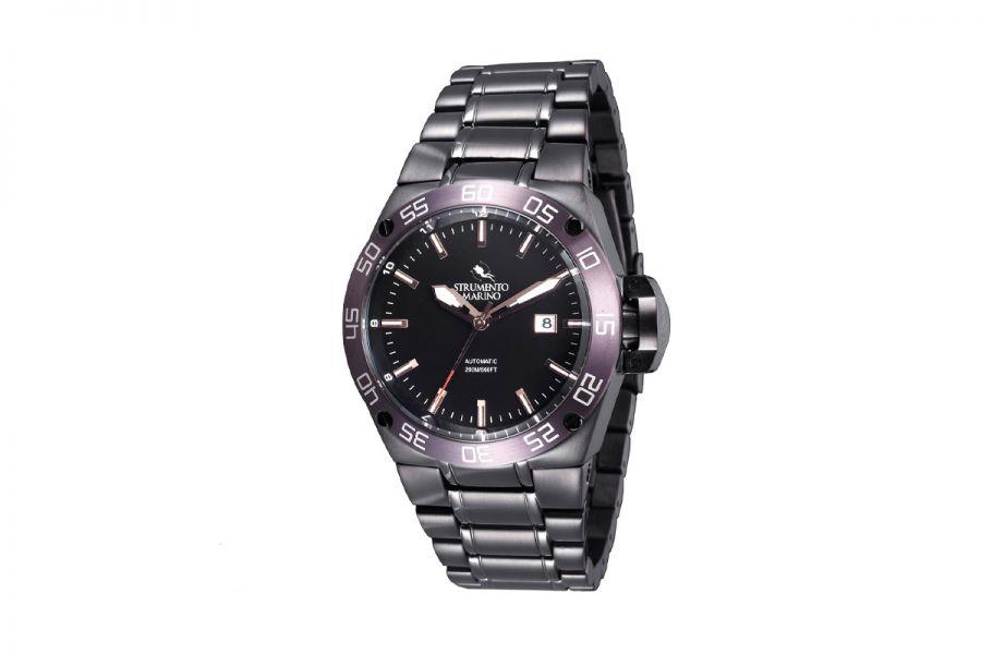 Strumento Marino SM104MB-BK-NR-MR Horloge Heren 45MM 20ATM