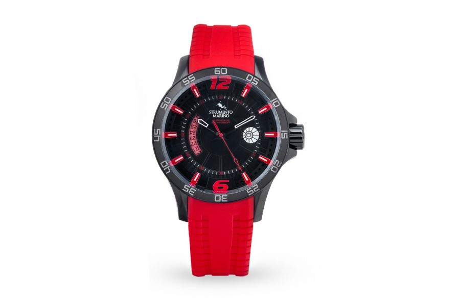 Strumento Marino SM116S-BK-NR-RS Horloge Heren 46MM 30ATM