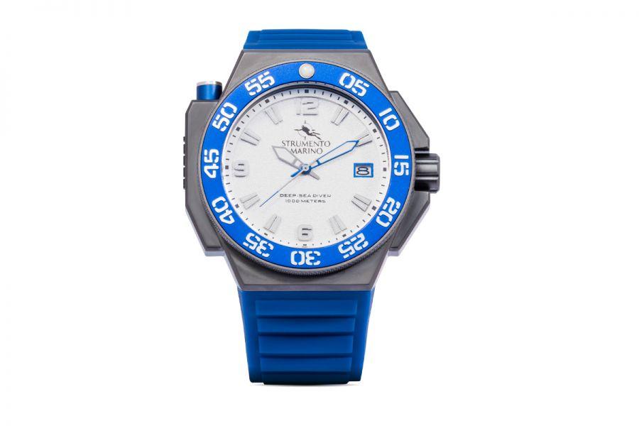 Strumento Marino SM129S-TT-BN-BL Horloge Heren 46MM 100ATM