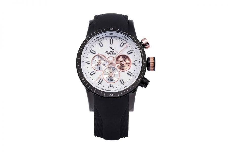 Strumento Marino SM131S-BK-BN-NR Horloge Heren 46MM 10ATM