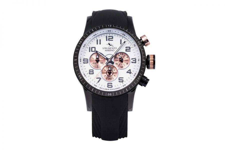 Strumento Marino SM132S-BK-BN-RG-NR Horloge Heren 46MM 10ATM